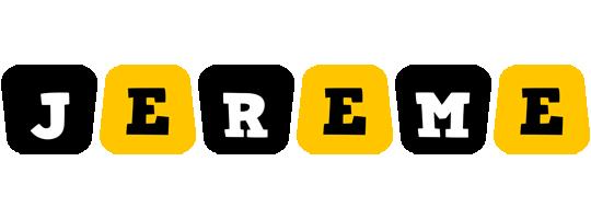 Jereme boots logo