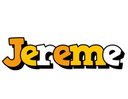 Jereme cartoon logo