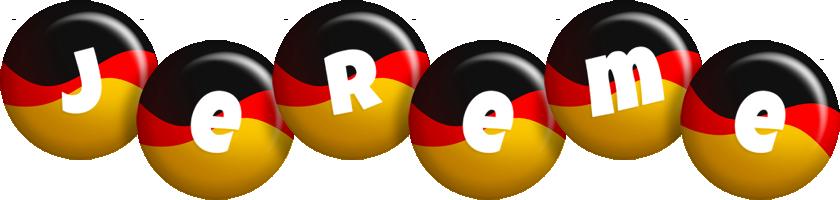 Jereme german logo