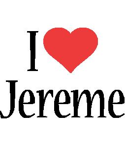 Jereme i-love logo