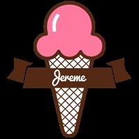 Jereme premium logo