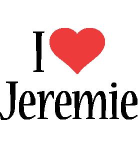 Jeremie i-love logo