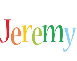 Jeremy birthday logo