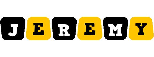Jeremy boots logo