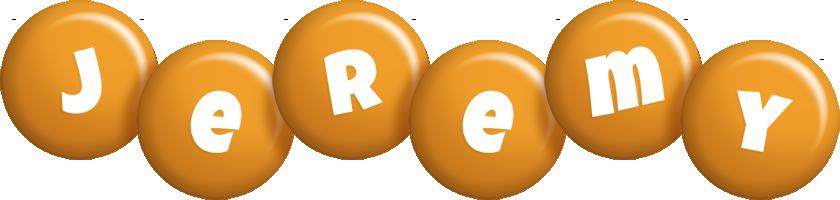 Jeremy candy-orange logo