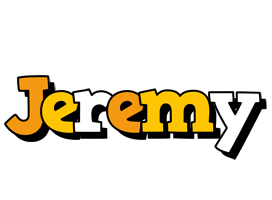 Jeremy cartoon logo