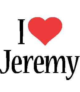 Jeremy i-love logo