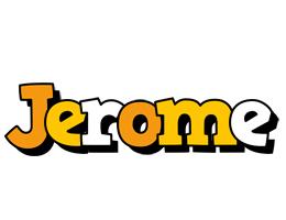 Jerome cartoon logo