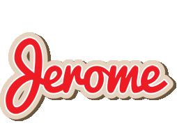 Jerome chocolate logo