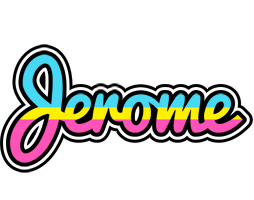 Jerome circus logo