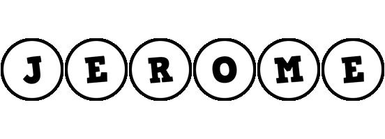 Jerome handy logo