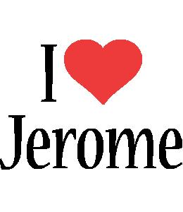Jerome i-love logo