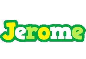 Jerome soccer logo