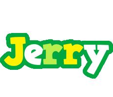 Jerry soccer logo