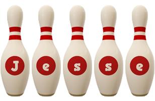 Jesse bowling-pin logo