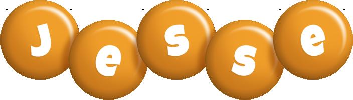 Jesse candy-orange logo