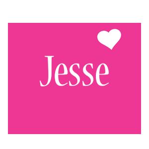 Jesse love-heart logo