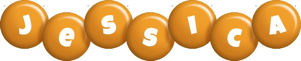 Jessica candy-orange logo
