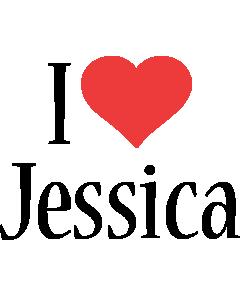 Jessica i-love logo