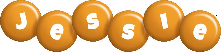 Jessie candy-orange logo