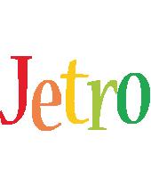 Jetro birthday logo