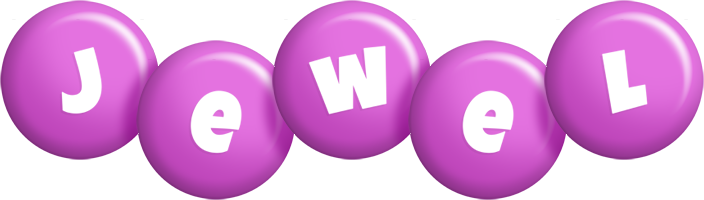 Jewel candy-purple logo