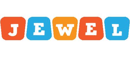 Jewel comics logo