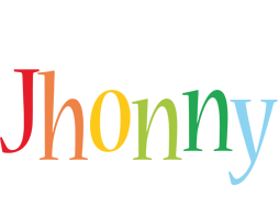 Jhonny birthday logo