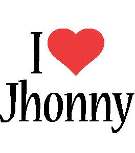 Jhonny i-love logo