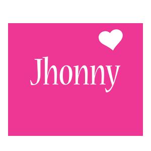 Jhonny love-heart logo