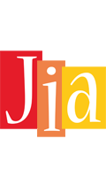 Jia colors logo
