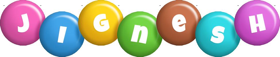 Jignesh candy logo