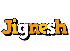 Jignesh cartoon logo