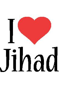 Jihad i-love logo