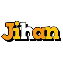 Jihan cartoon logo