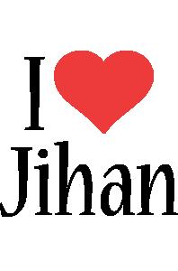 Jihan i-love logo