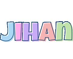 Jihan pastel logo