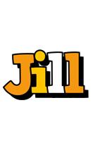 Jill cartoon logo
