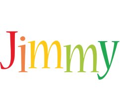 Jimmy birthday logo