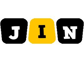 Jin boots logo
