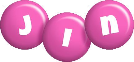 Jin candy-pink logo