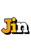 Jin cartoon logo