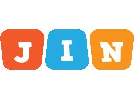 Jin comics logo