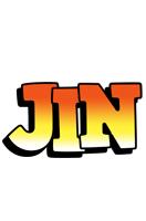 Jin sunset logo