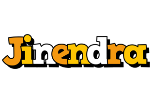 Jinendra cartoon logo