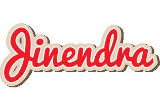 Jinendra chocolate logo