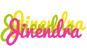 Jinendra sweets logo