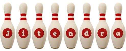 Jitendra bowling-pin logo