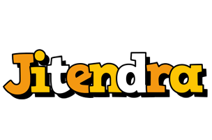 Jitendra cartoon logo