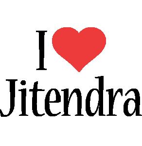 Jitendra i-love logo